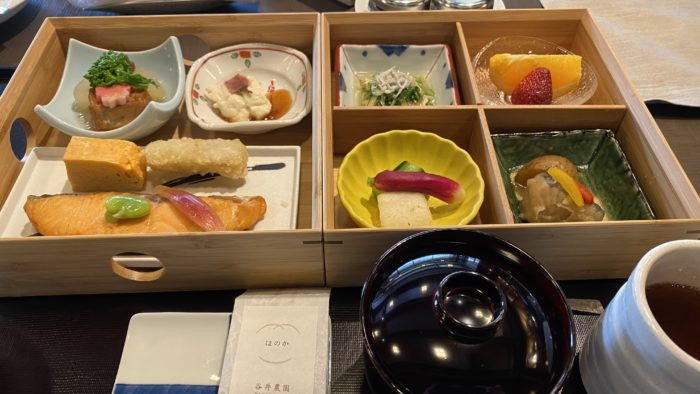 Hotel The Mitsui Kyoto 朝食(和食)